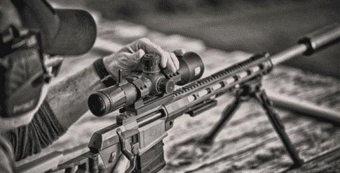 EOTECH Vudu 5-25x50 FFP Rifle Scope